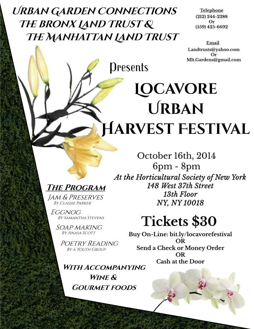 Locavore Urban Harvest Festival