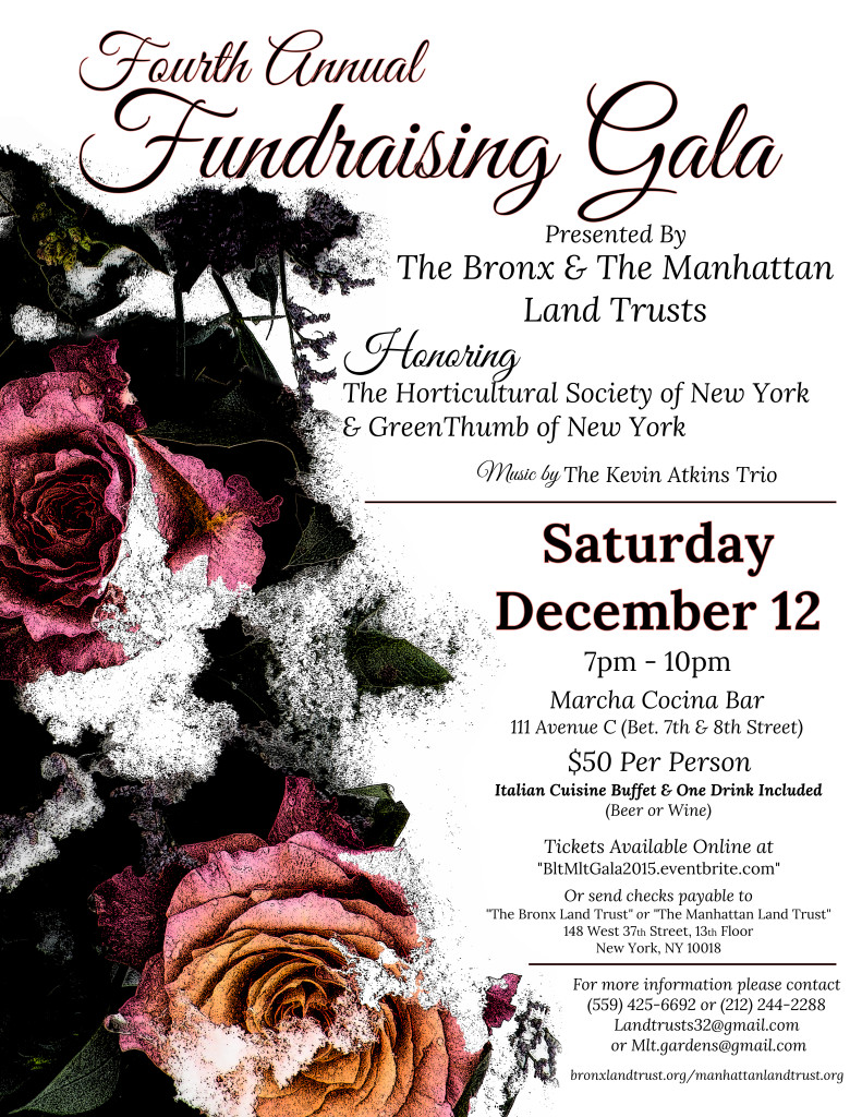 BLT & MLT 2015 Fourth Annual Fundraising Gala December 12th