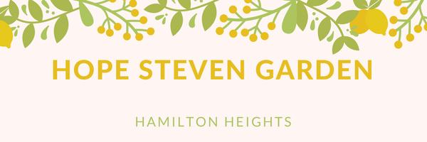 Hope Steven Garden